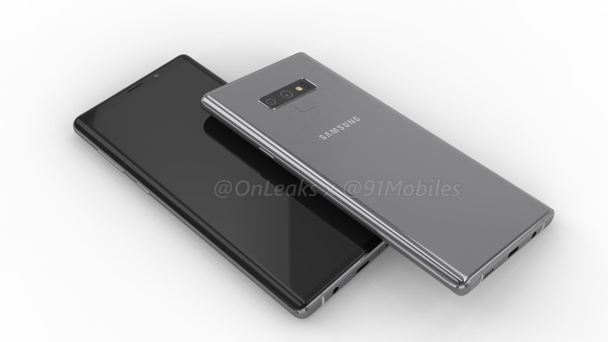Samsung Galaxy Note 9 render - 91mobiles (11)