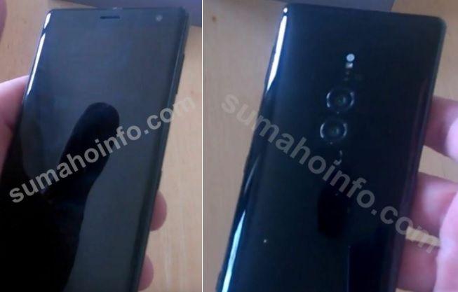 Sony Xperia XZ3 live images leak