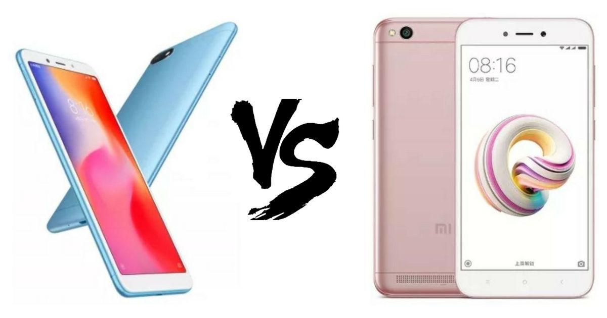 Xiaomi Redmi 6A vs Redmi 5A: what's new | 91mobiles com