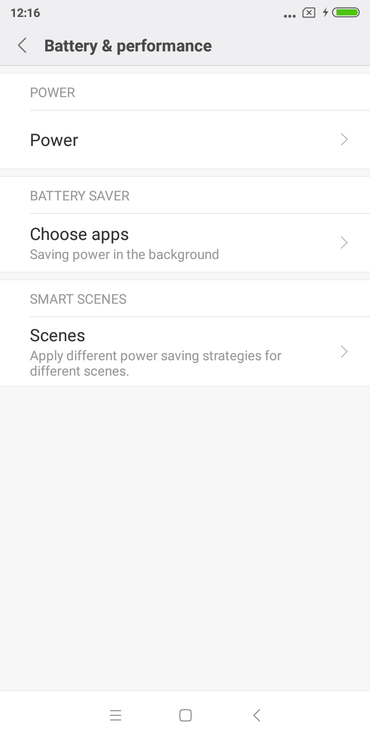 Xiaomi Redmi Y2 battery 1