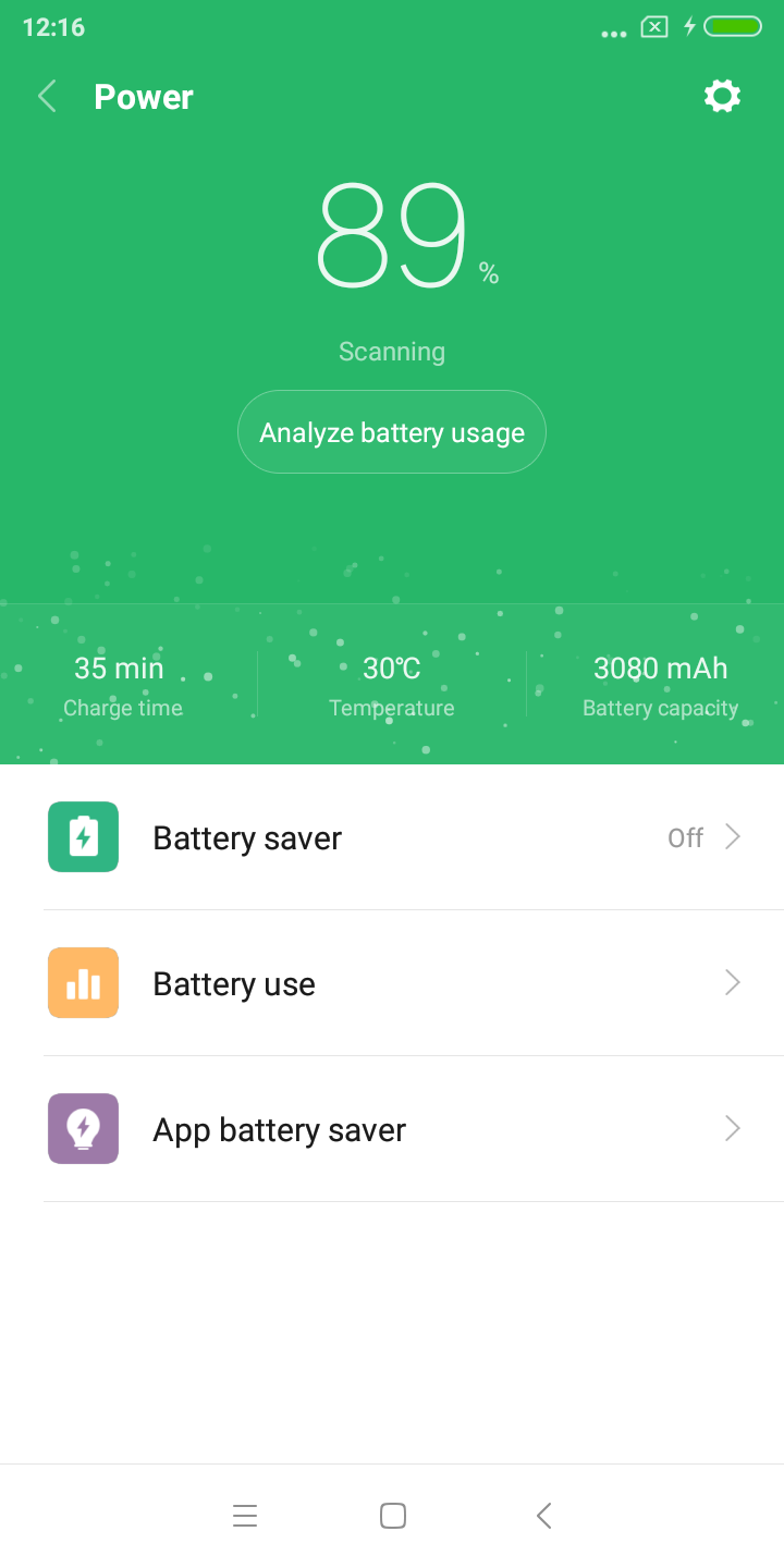 Xiaomi Redmi Y2 battery 2
