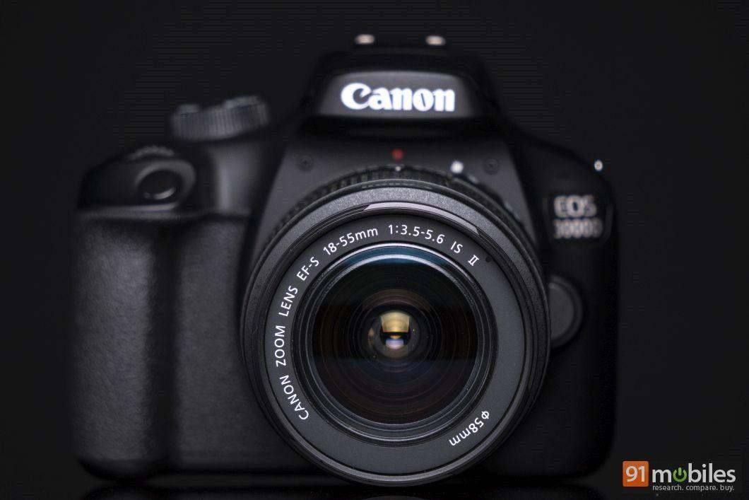 Canon EOS 3000D review - 91mobiles 01