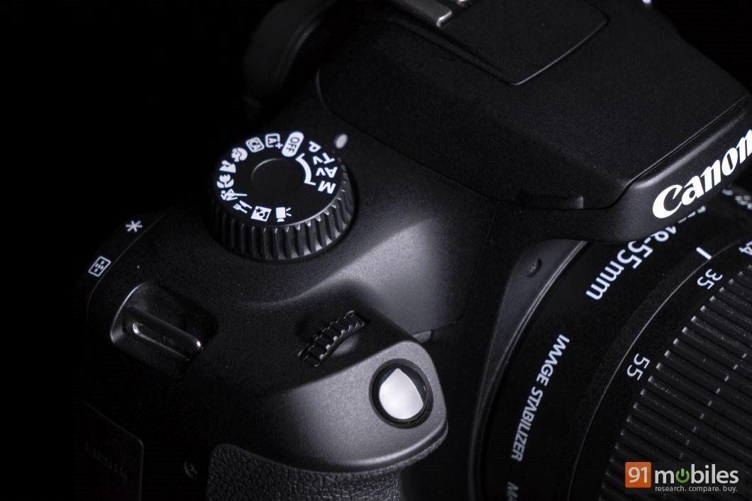 Canon EOS 3000D review - 91mobiles 06