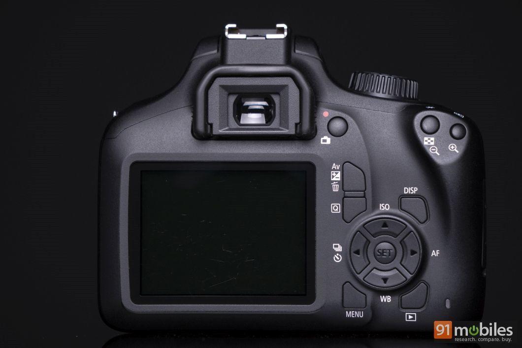 Canon EOS 3000D review - 91mobiles 09
