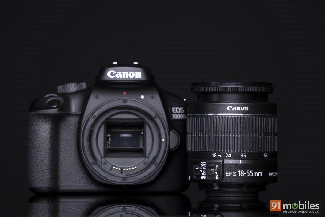 Canon EOS 3000D review - 91mobiles 13