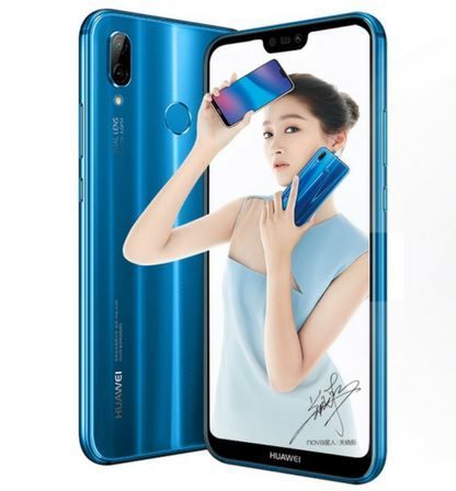 Huawei Nova 3 front