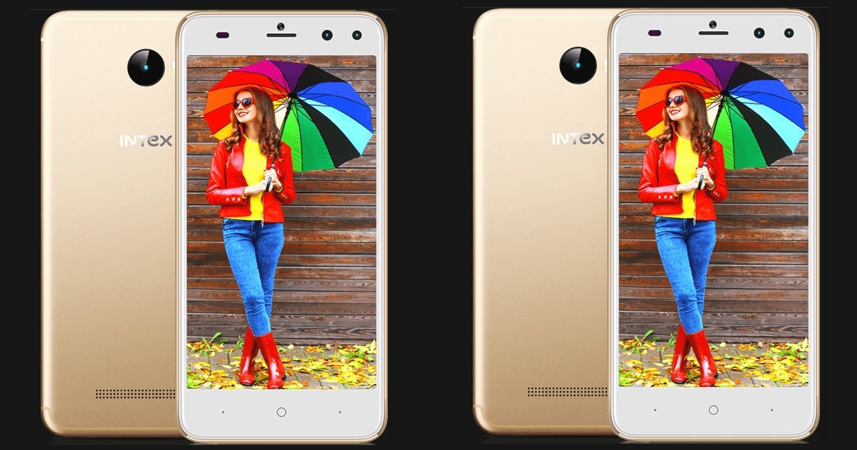 Intex Aqua Lions T1 Plus with dual selfie cameras launched for Rs