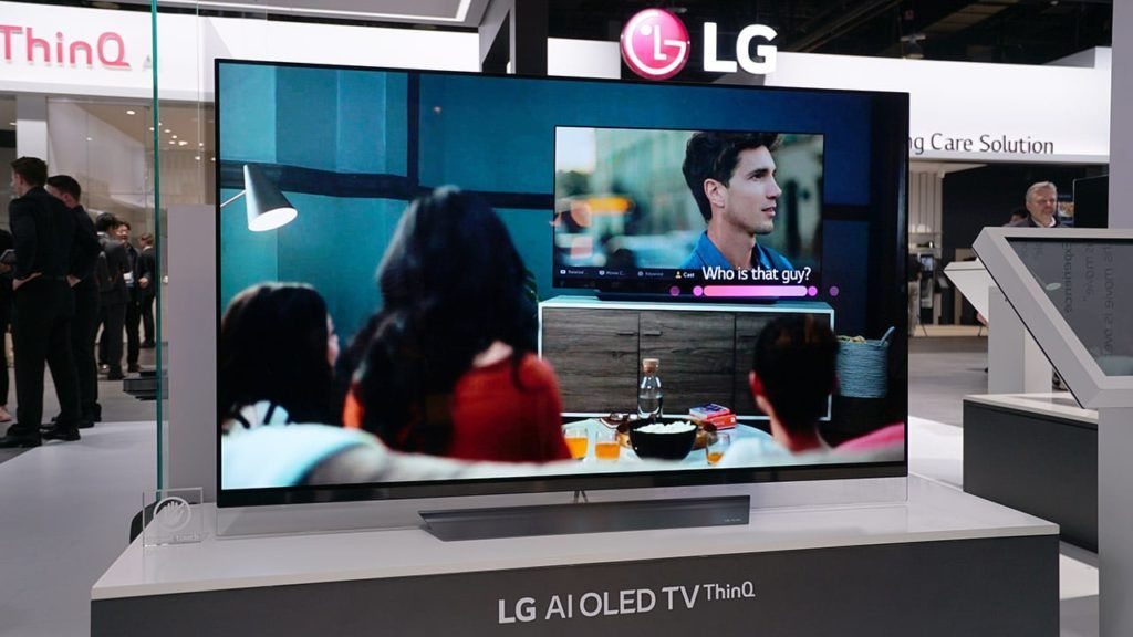 Image result for lg launched new range of ai thinq tv