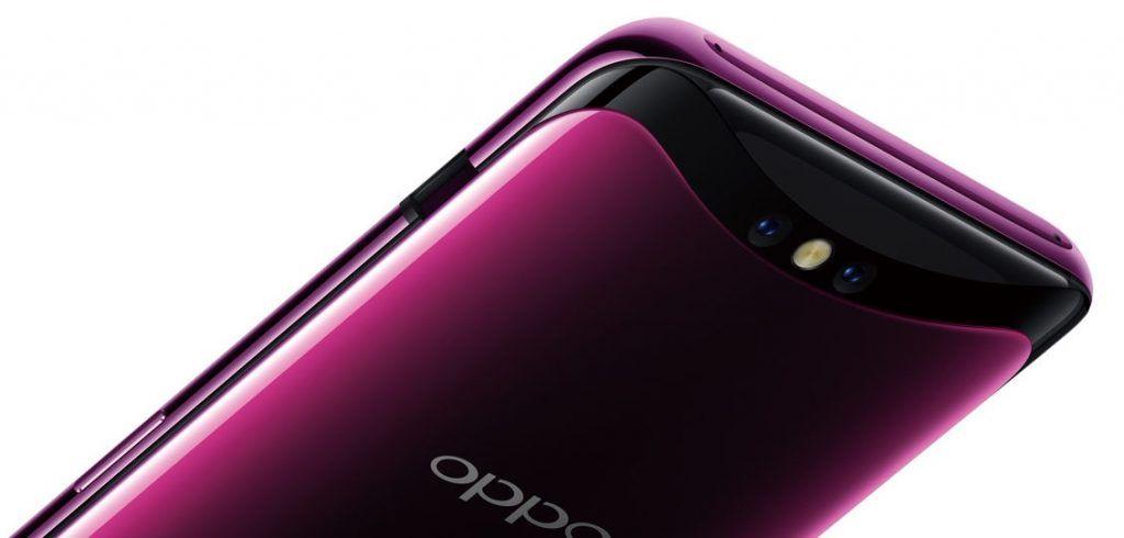 OPPO Find X rear camera module
