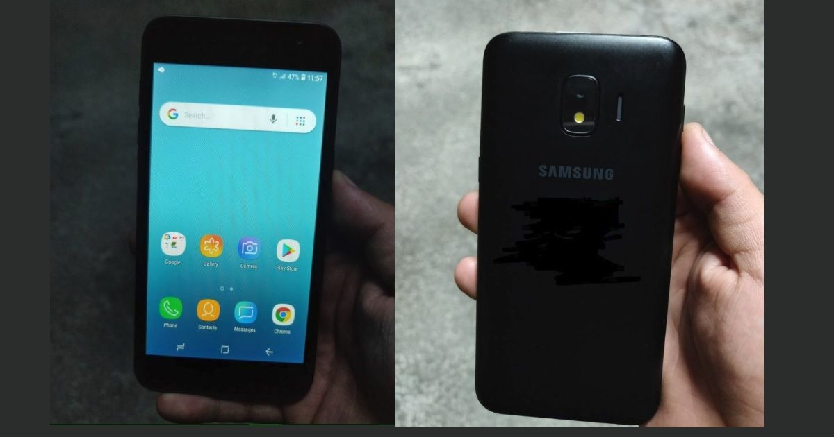 Samsung Galaxy J2 Core Android Go smartphone s alleged live images leaked    91mobiles.com 6a63d9ccb888