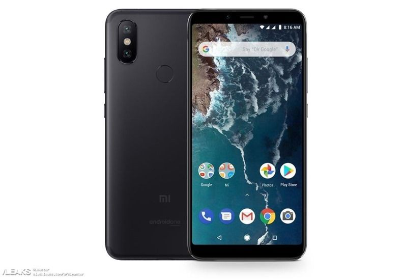 Xiaomi Mi A2 With 18 9 Display And Dual Camera Module