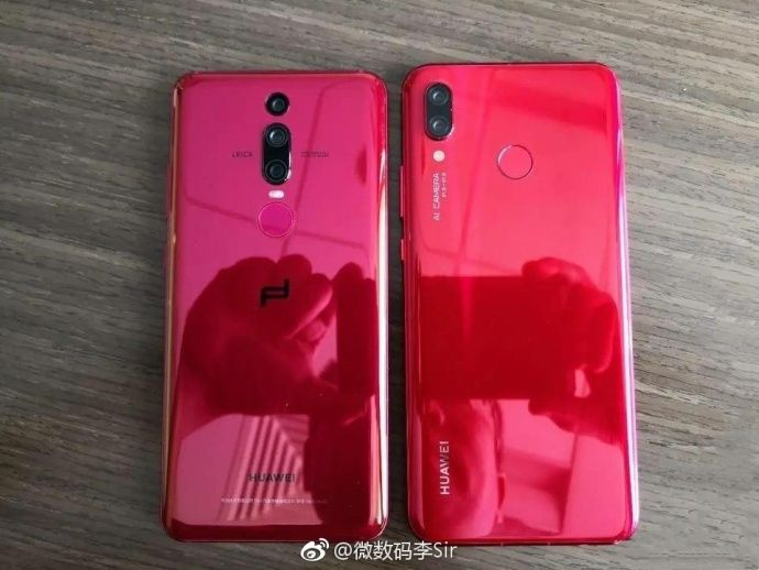 Huawei Nova 3 new red colour variant leaked in live image