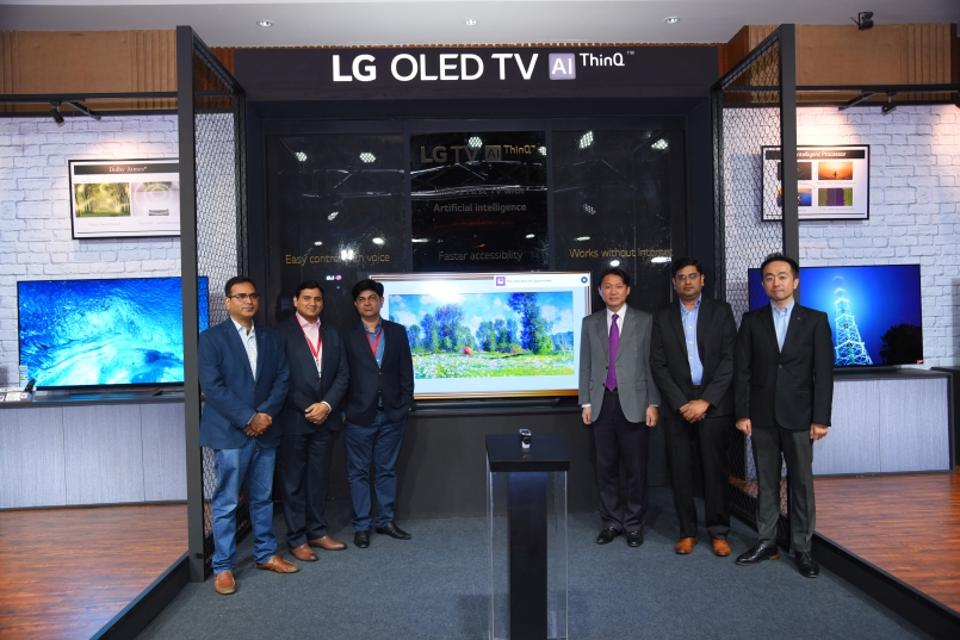 Lg Thinq Series Tv With Artificial Intelligence Launched Prices