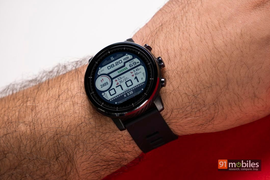 Amazfit Stratos review: stay fit, stay stylish | 91mobiles com