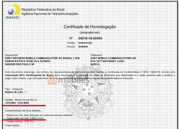 Certificado Sony 2
