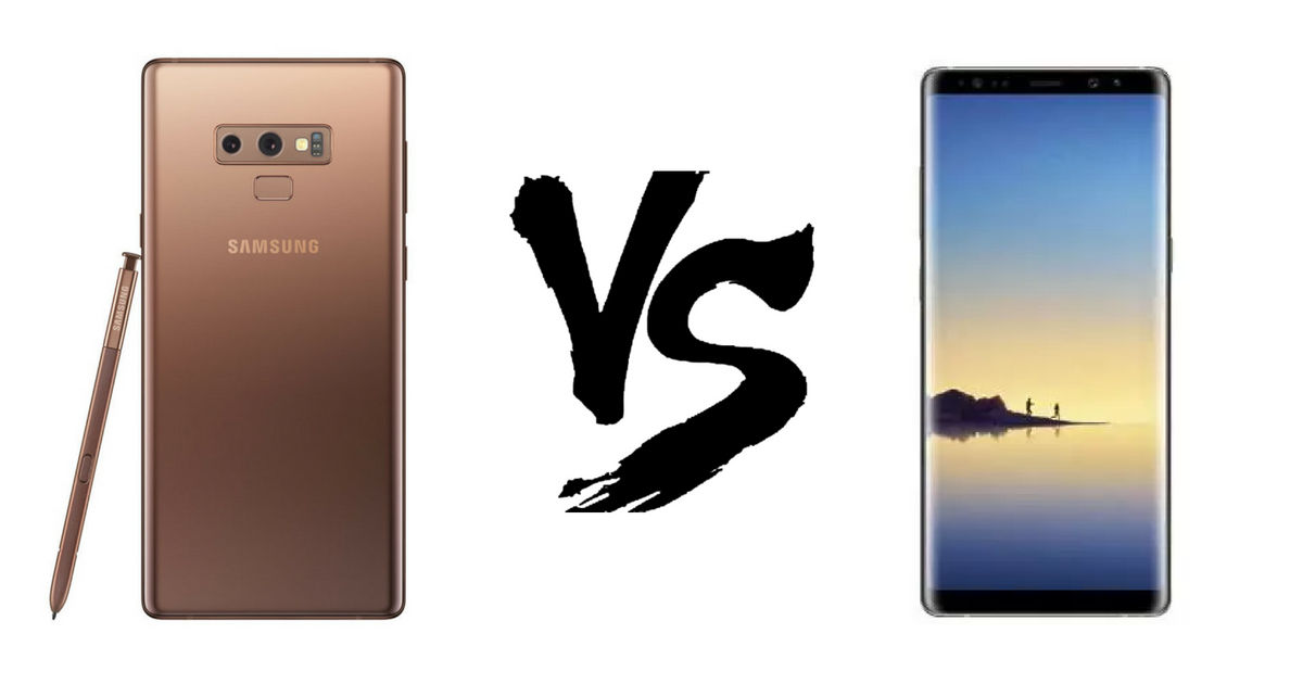 Galaxy Note 9 vs Note8- Featured