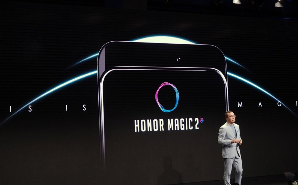 IFA 2018]: Honor Magic 2 teased with a slide-out panel and