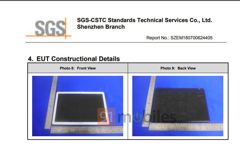 Huawei's Mediapad T5 tablet with 5G connectivity gets FCC