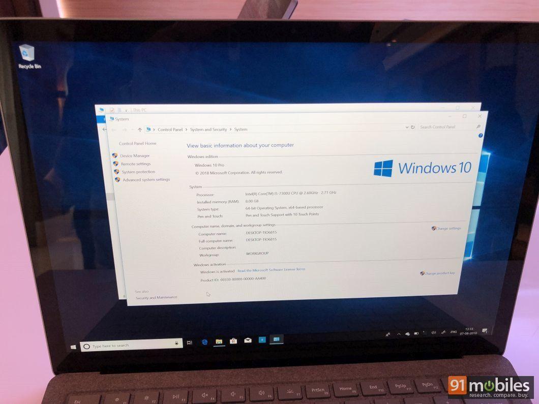 Microsoft Surface Laptop 13
