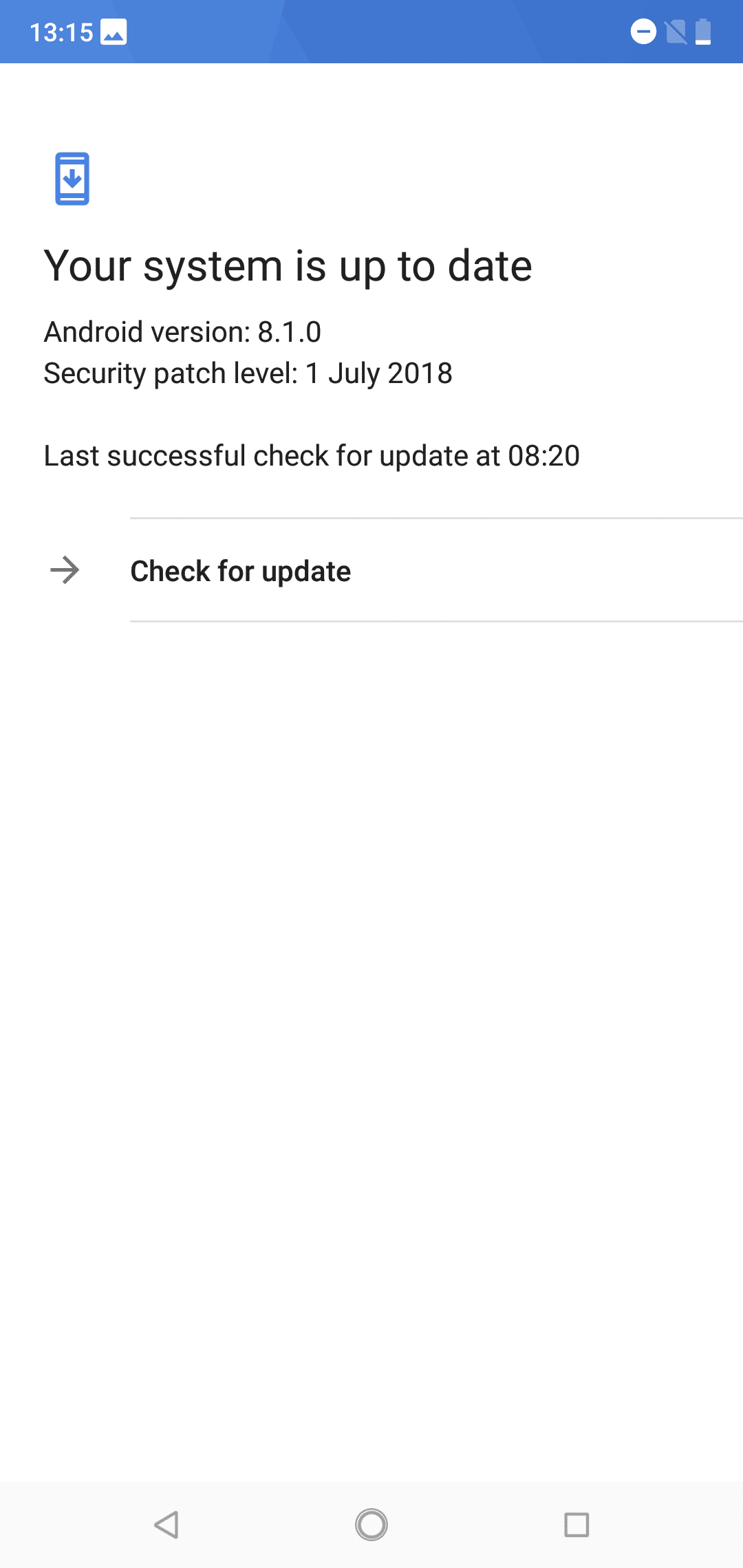 Nokia 6.1 Plus Software 3