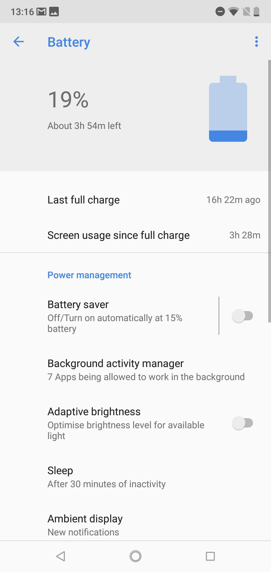 Nokia 6.1 Plus battery 1