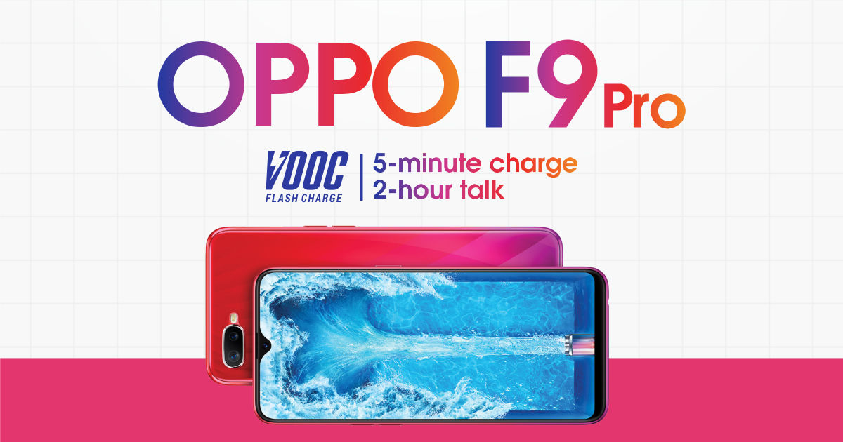 OPPO F9 Pro: 9 reasons why it edges out its rivals [Infographic