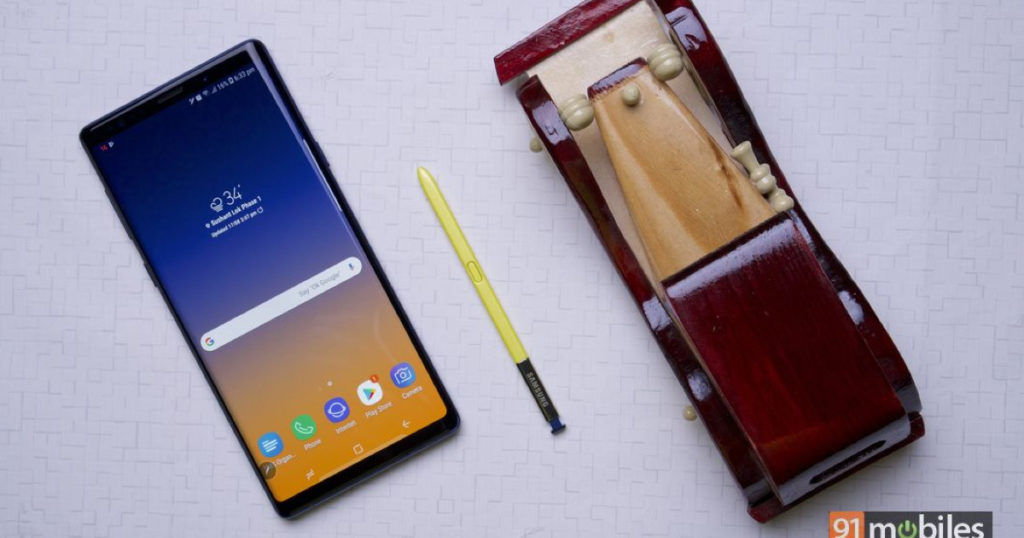 Samsung Galaxy Note 9 feat