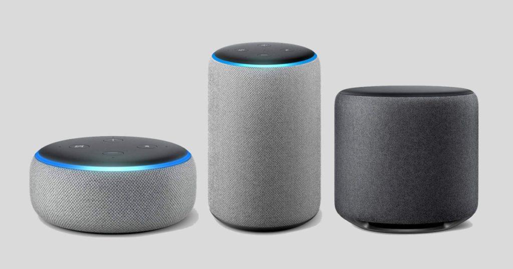 Amazon Echo Dot, Plus, Sub