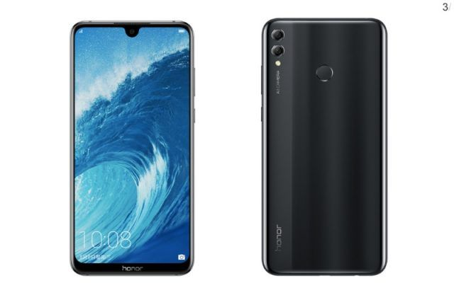 Honor 8X with waterdrop notch and Kirin 710 processor set to