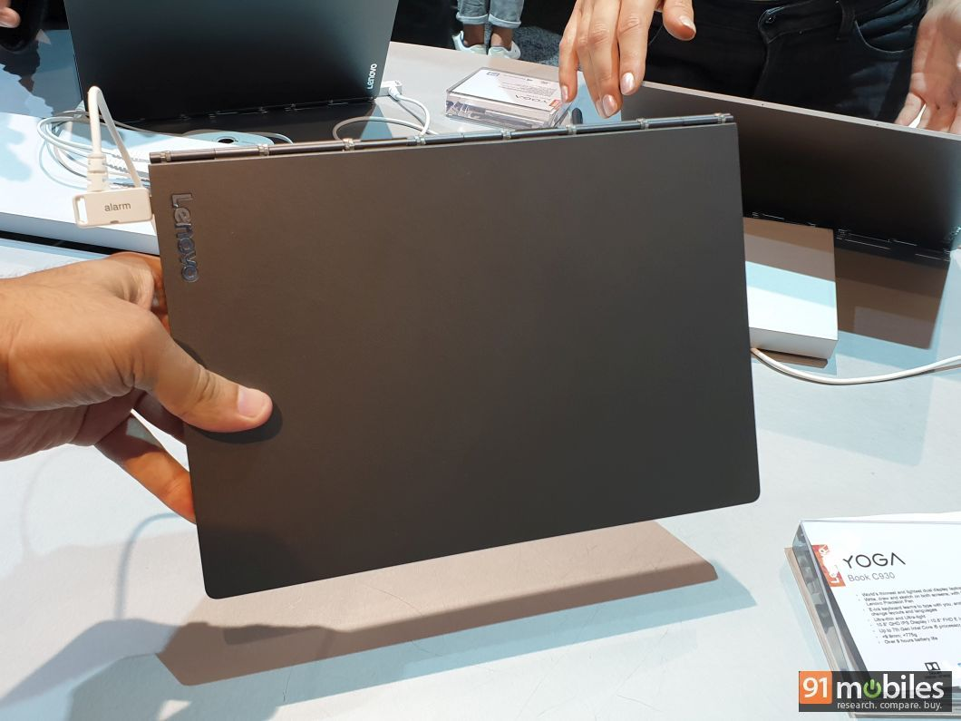 Lenovo Yoga Book C930 first impressions: this dual-screen laptop is