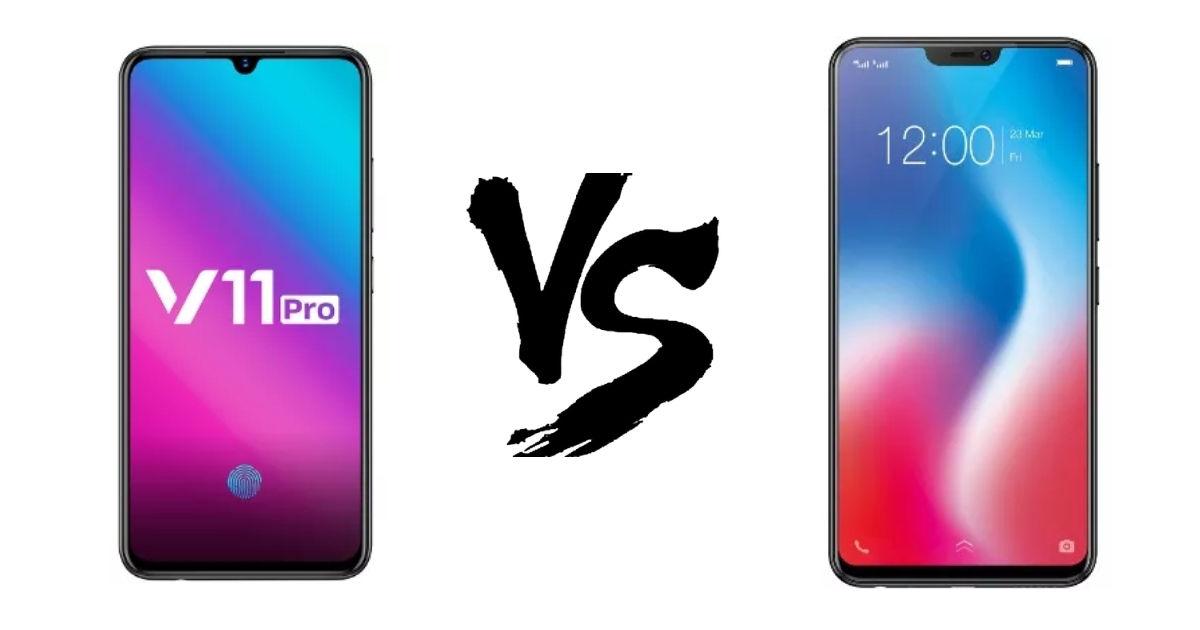 Vivo V11 Pro Vs V9 Featured