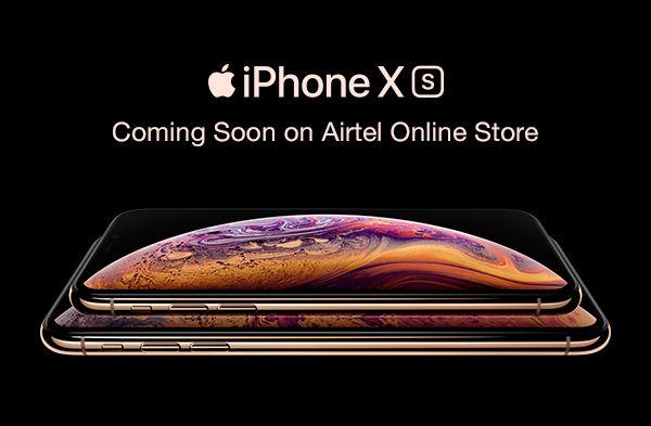 iPhones on airtel store