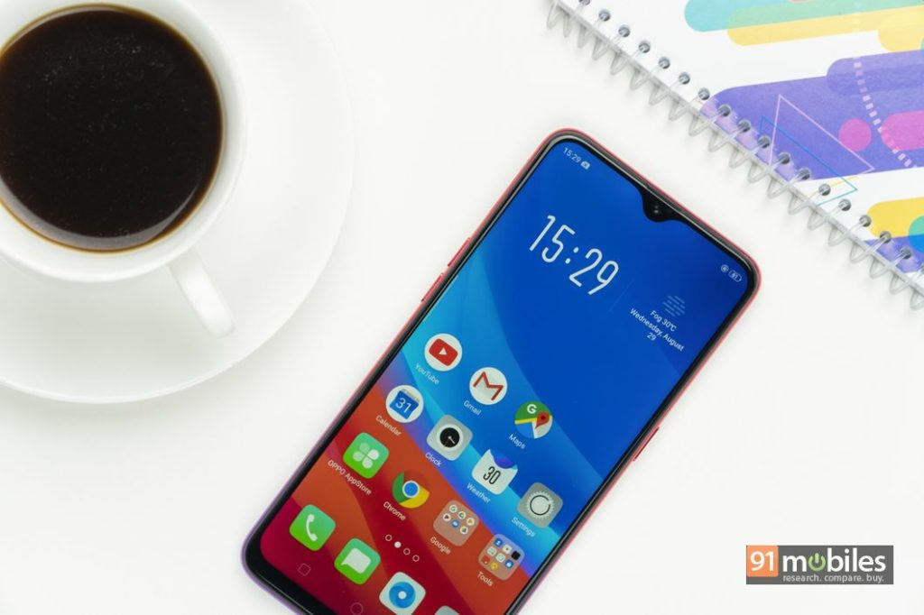 OPPO A3s, F9, and F9 Pro prices in India slashed by up to Rs 2,000