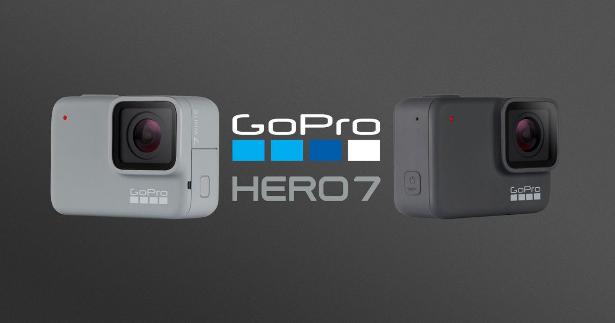 GoPro HERO7 White and Silver - FB feat