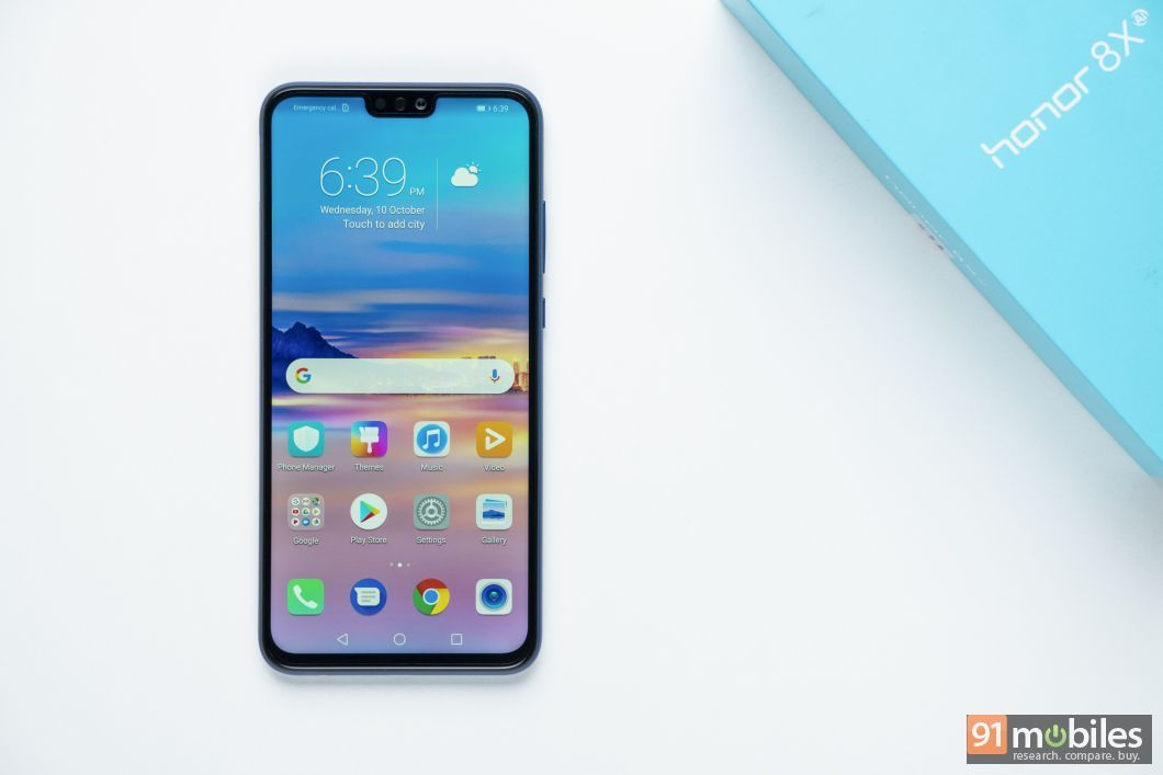 Honor 8X to get EMUI 9 0 based on Android 9 0 Pie in December