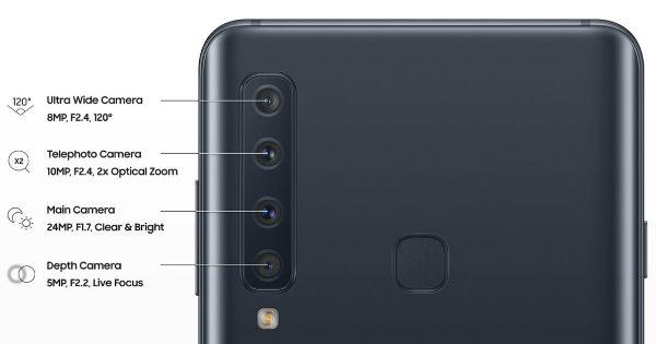 Samsung galaxy A9 2018 small