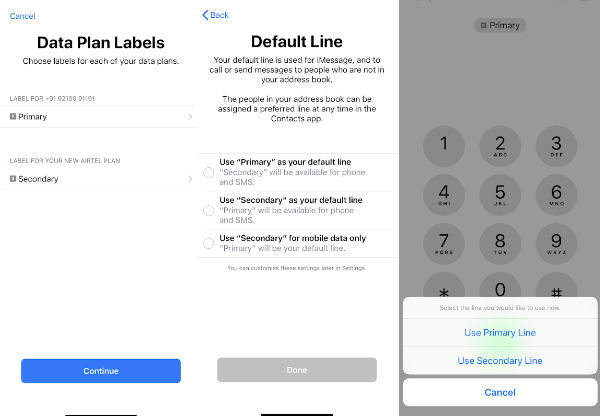 How to set up Airtel eSIM for dual-SIM on iPhone XS, iPhone