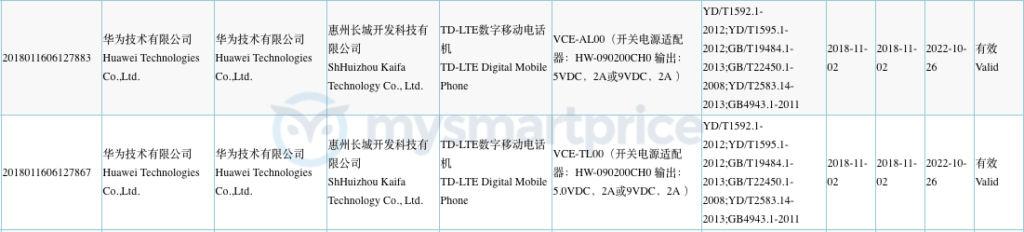 Huawei-VCE-AL00-3C