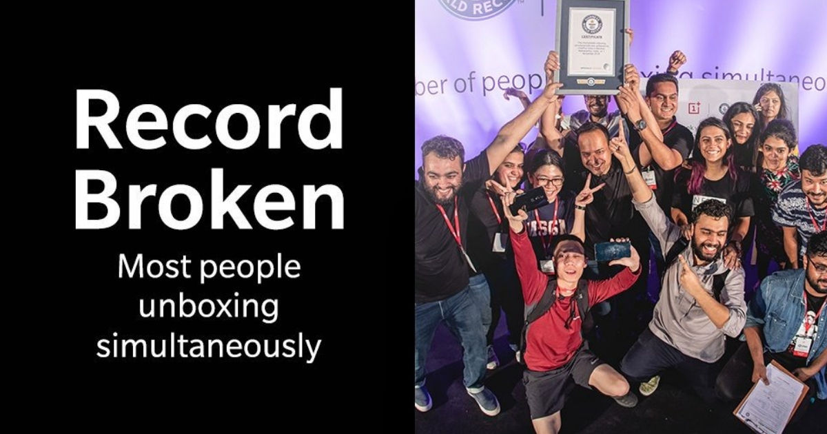 OnePlus 6T World Record - Featured