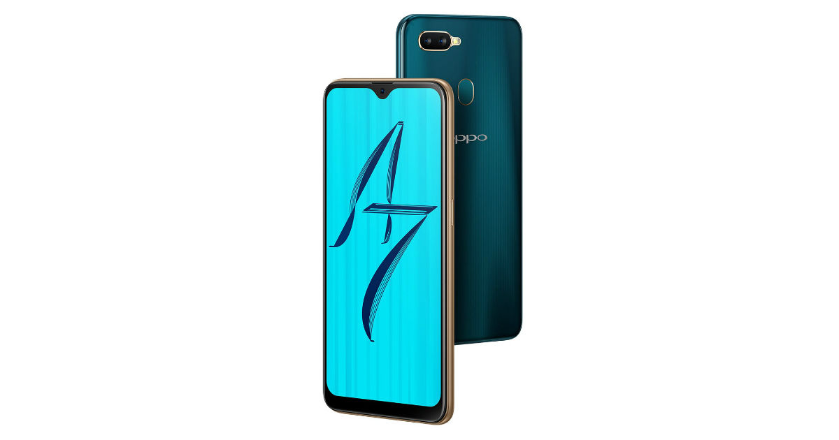 OPPO A7 with Snapdragon 450 SoC and 4,230mAh battery