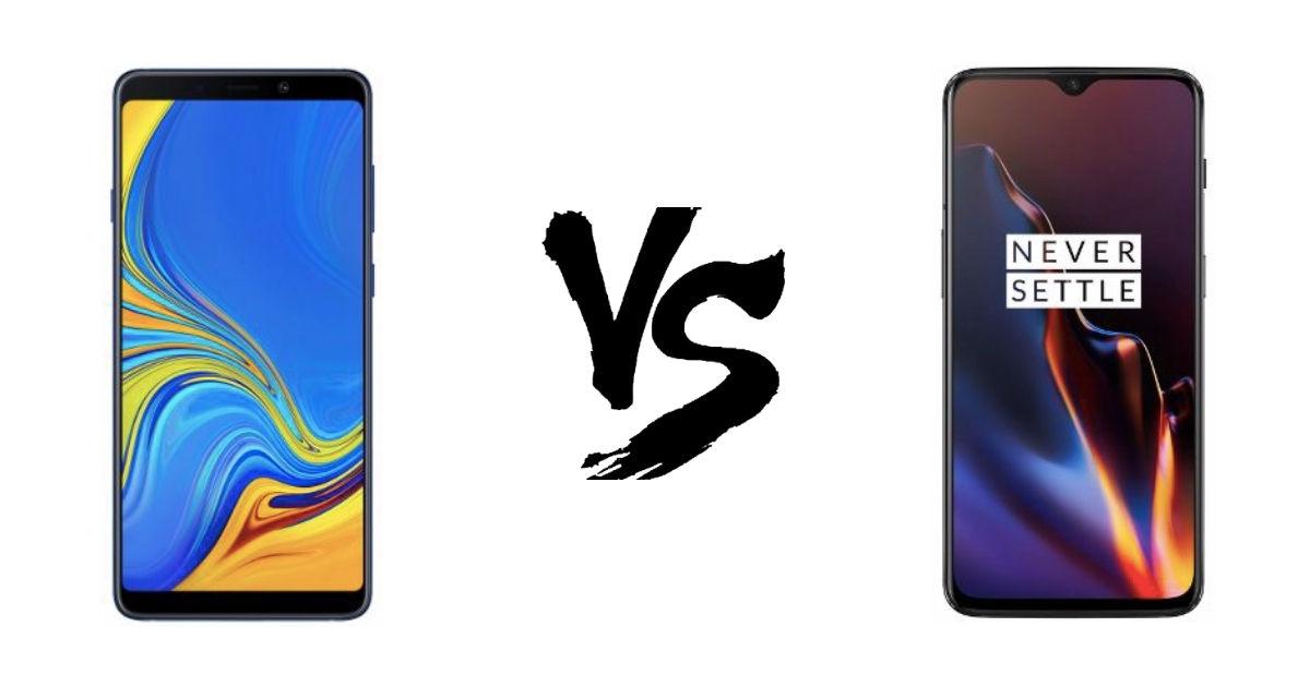 Samsung Galaxy A9 (2018) va OnePlus 6T- Featured