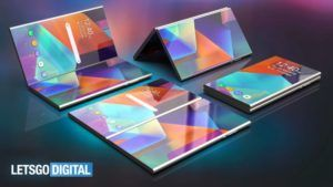 Samsung Galaxy F Foldable display