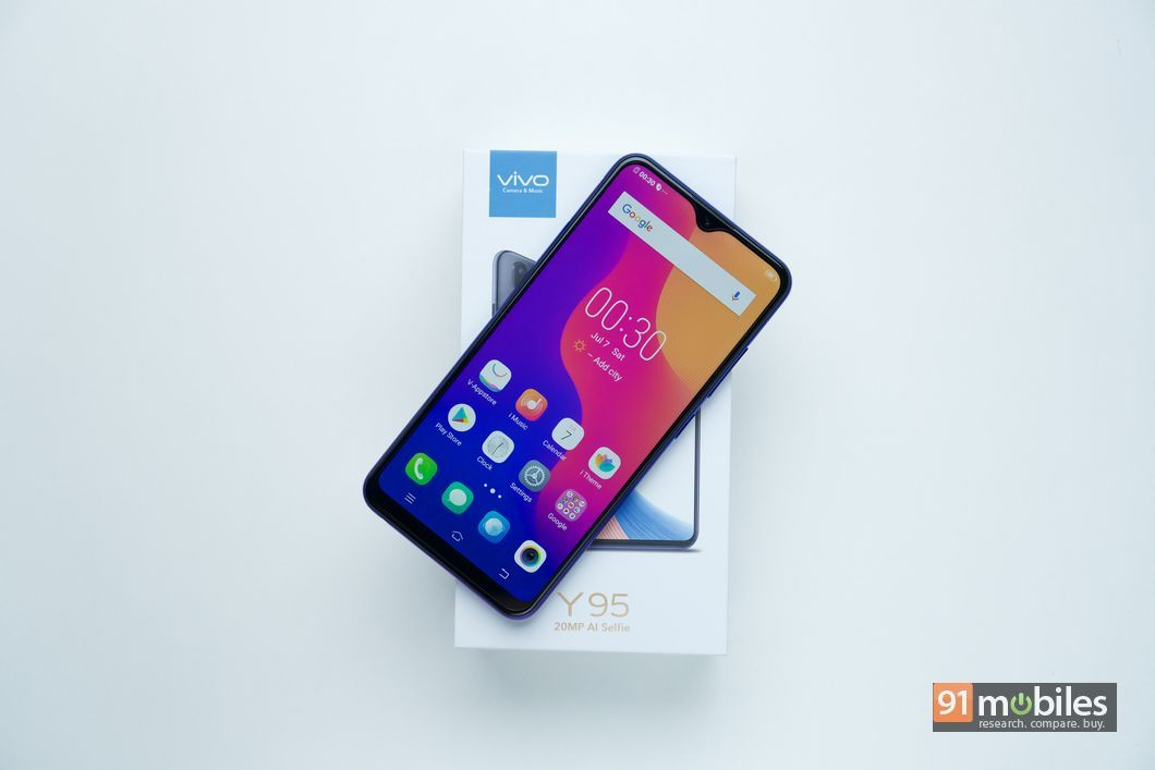 Vivo Y95 unboxing and first impressions: high on style, low on
