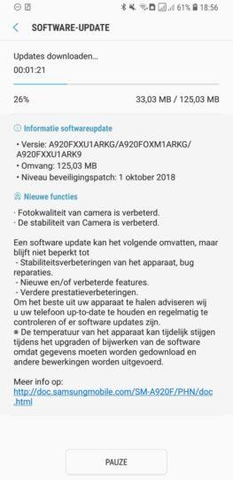 Samsung Galaxy A9 (2018) software update brings camera