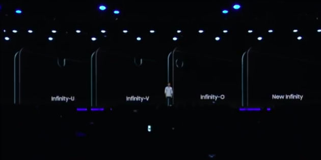 samsung infinity display designs new
