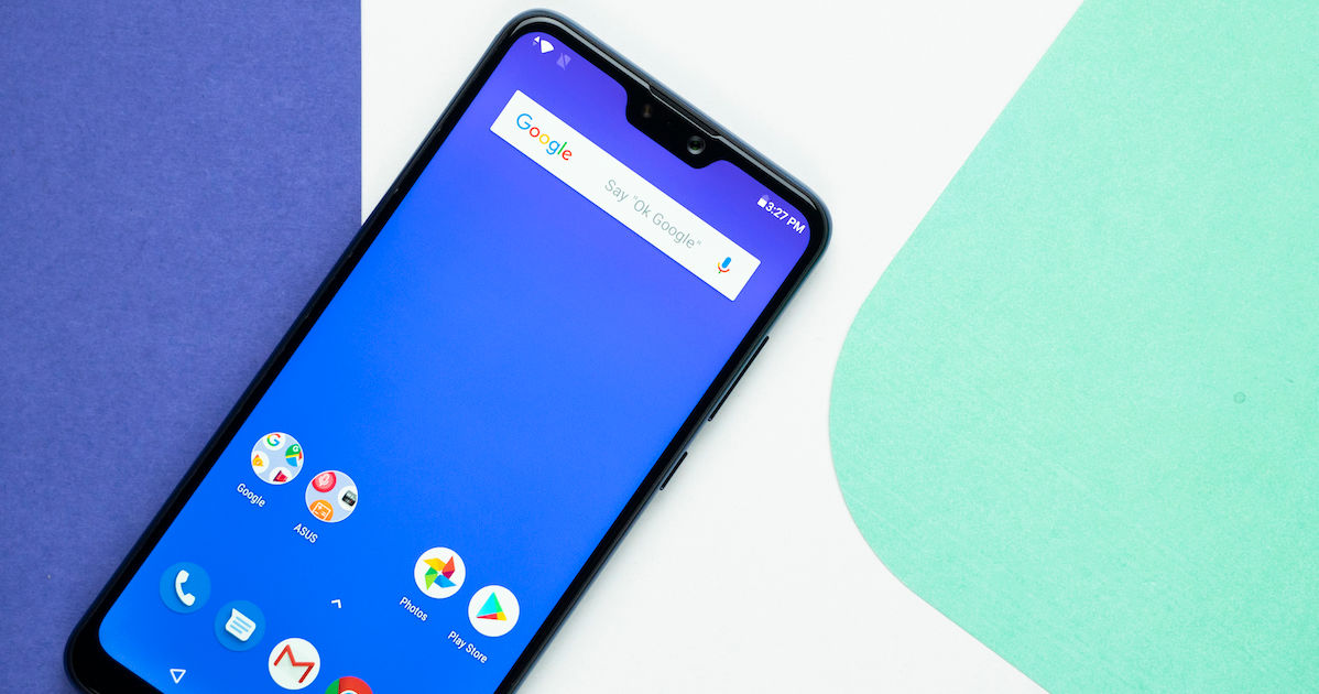 ASUS ZenFone Max Pro M2, ROG Phone running Android Pie