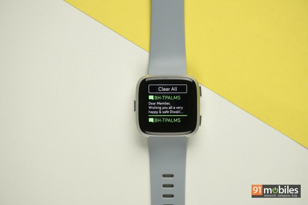 Fitbit Versa review - 91mobiles 14