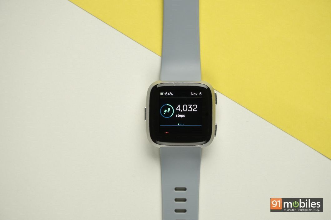 Fitbit Versa review - 91mobiles 15