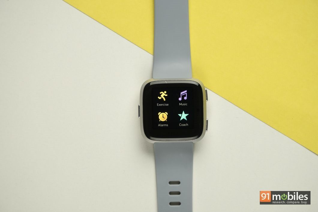 Fitbit Versa review - 91mobiles 16