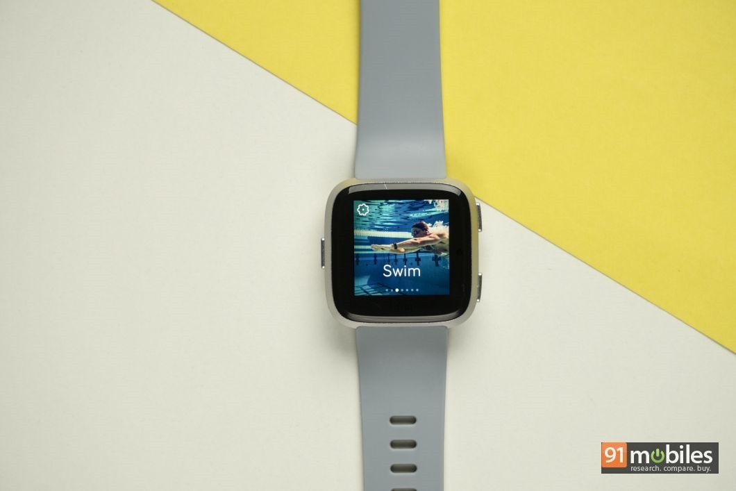 Fitbit Versa review - 91mobiles 17